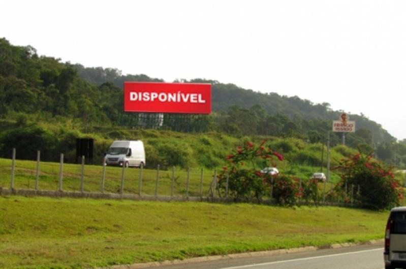 Alugar Painel para Rodo Carapicuíba - Painel Rodoviário de Alumínio