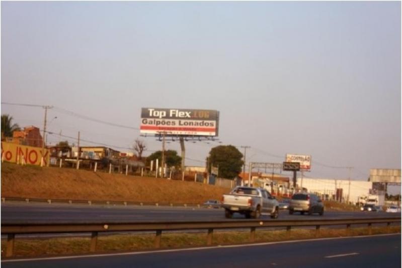 Alugar Painel Rodoviário com Lona Santa Bárbara D'Oeste - Painel para Rodo