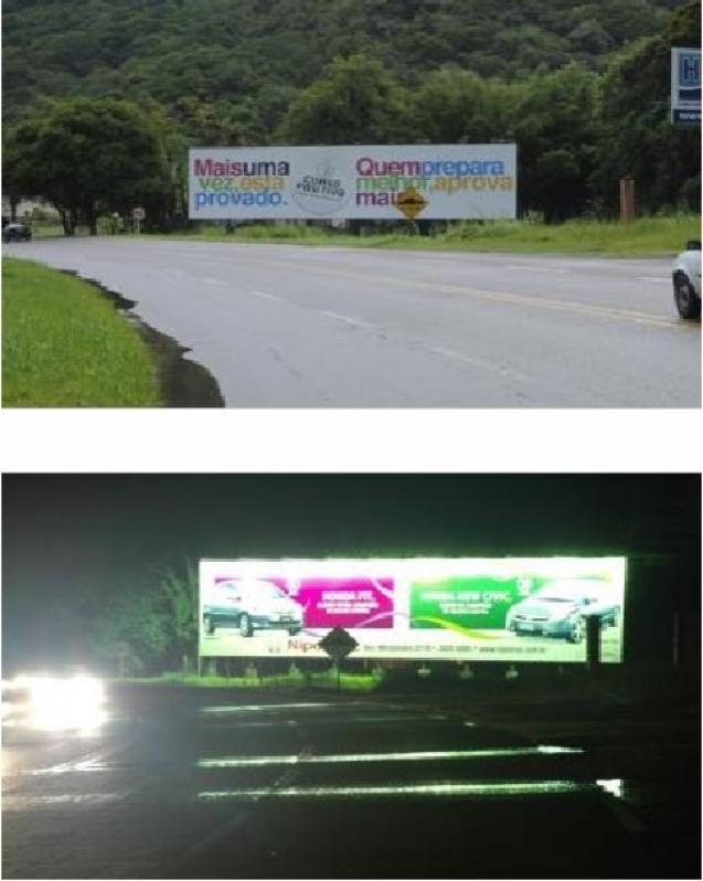 Comprar Front Light para Empresa Valinhos - Front Light Painel