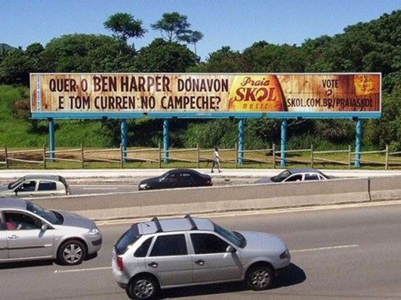 Empresa de Painel Rodoviário Mongaguá - Painel Rodoviário Aluguel