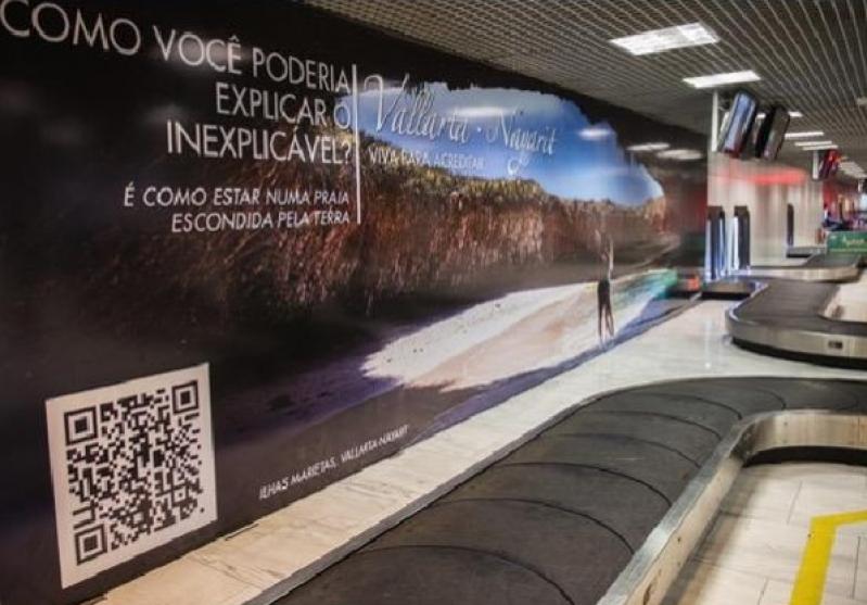 Empresa de Publicidade no Aeroporto Americana - Publicidade em Aeroporto