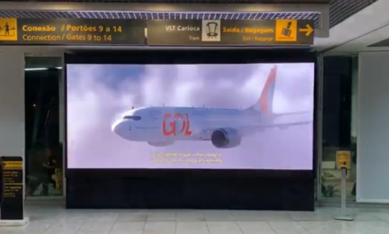 Fazer Anúncio no Painel Torre de Led Itapecerica da Serra - Painel Testeira de Led Aeroporto de Sp Congonhas