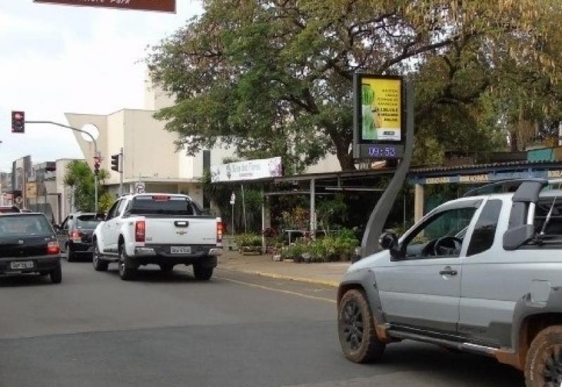 Fazer Anúncio no Relógio de Rua Digital Rio Claro - Relógio de Rua Propaganda na Avenida Acm Salvador