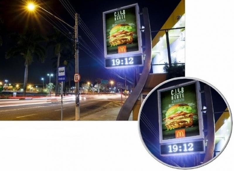 Fazer Anúncio no Relógio de Rua para Anúncio Mogi Guaçu - Relógio de Rua Propaganda na Avenida Acm Salvador