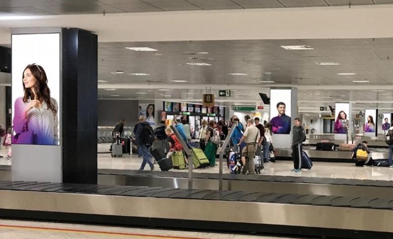 Locação de Painel Led 360 Paulínia - Painel Led no Aeroporto Internacional de Salvador Ba