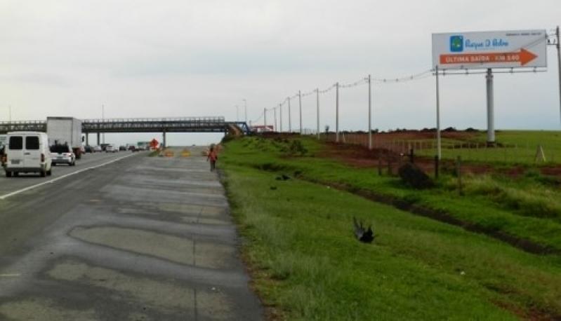 Locação de Painel Rodoviário Guaratinguetá - Aluguel de Painel Rodoviário