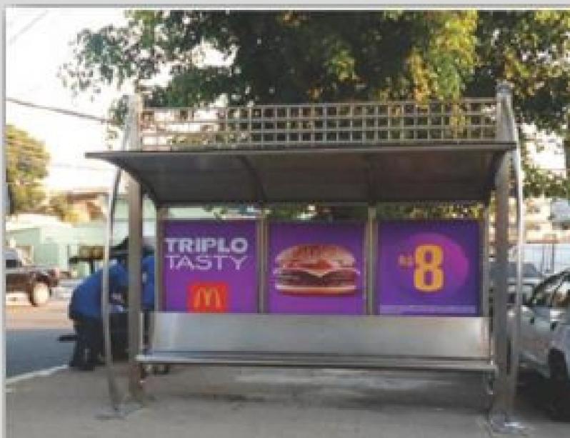 Locar Pontos ônibus para Publicidade Avaré - Pontos de ônibus Abrigo em Bauru