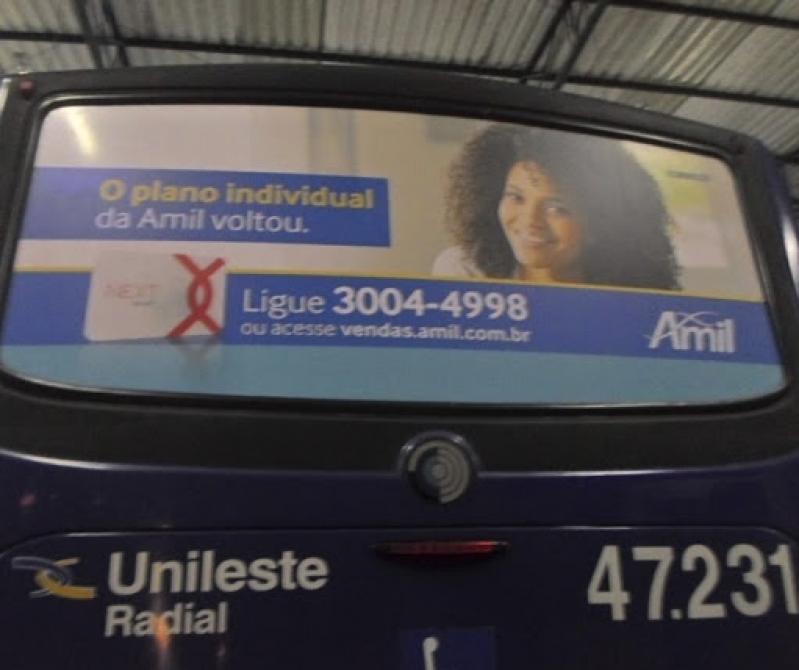 Mídia Busdoor Horizontal Itapevi - Busdoor de Propaganda Rondônia