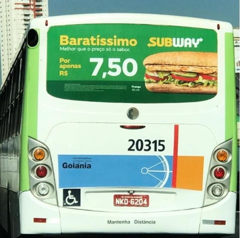 Mídia Busdoor para Campanha Preços Santo André - Busdoor de Propaganda Rondônia