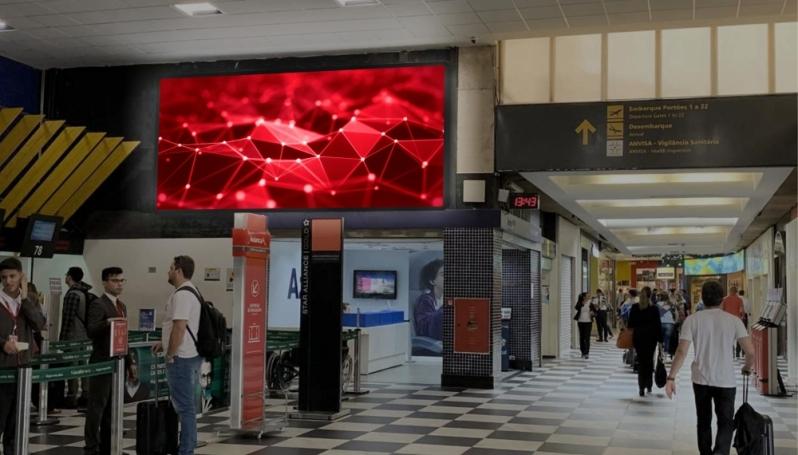 Mídia para Aeroporto Mairiporã - Publicidade no Aeroporto