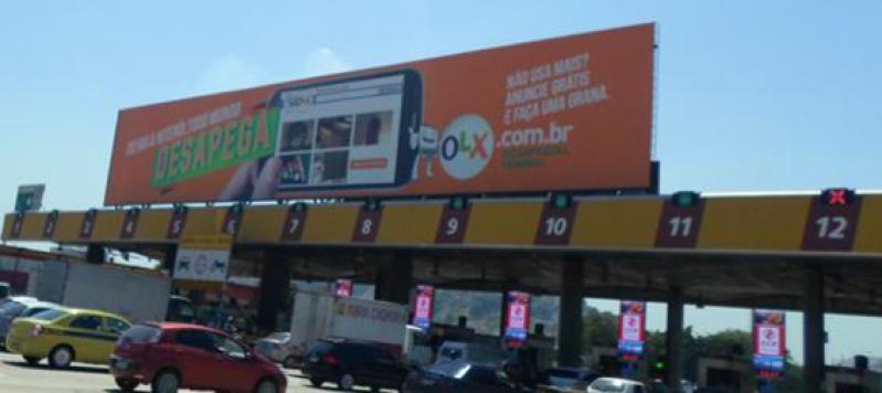 Painel Rodoviário com Iluminação Valores Jacareí - Painel Rodoviário com Lona