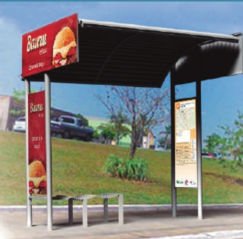 Pontos de ônibus de Publicidade Orçamento São Sebastião - Pontos de ônibus para Propaganda Guarujá