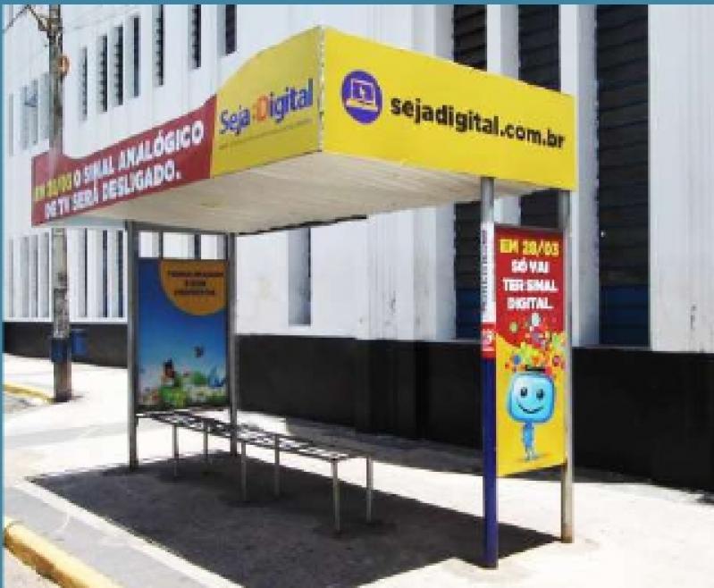 Pontos de ônibus de Publicidade Birigui - Pontos de ônibus para Propaganda Guarujá