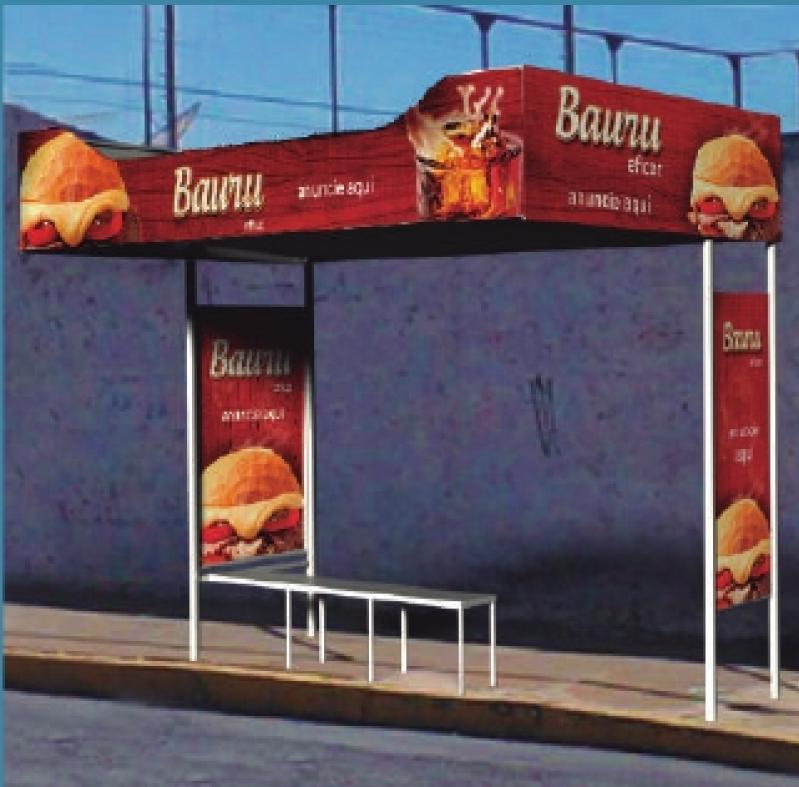 Pontos de ônibus para Publicidade Cotação Paulínia - Pontos de ônibus Abrigo em Bauru