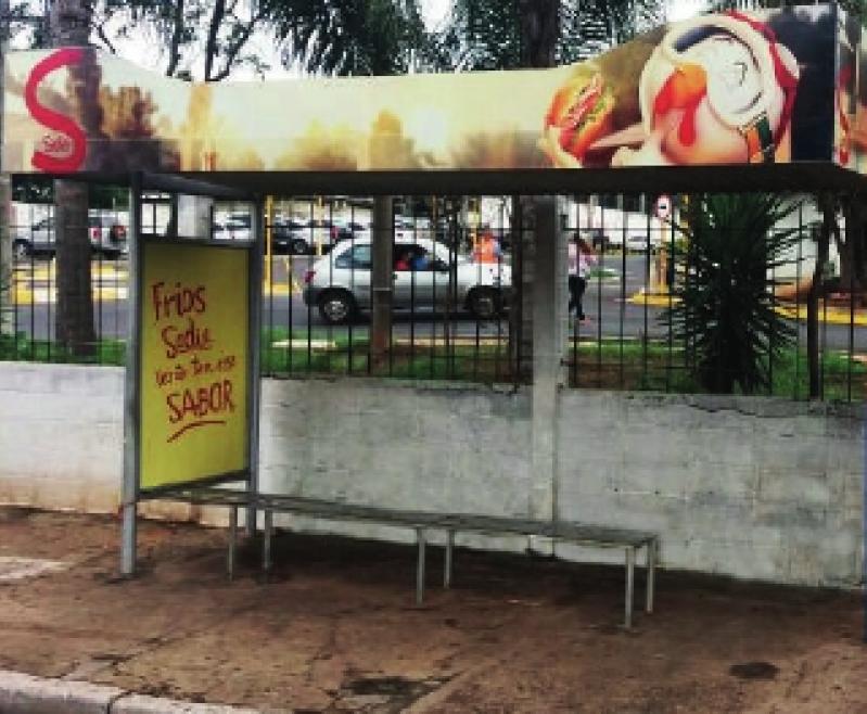 Pontos de ônibus Publicidade Cotação Valinhos - Pontos de ônibus para Propaganda Guarujá