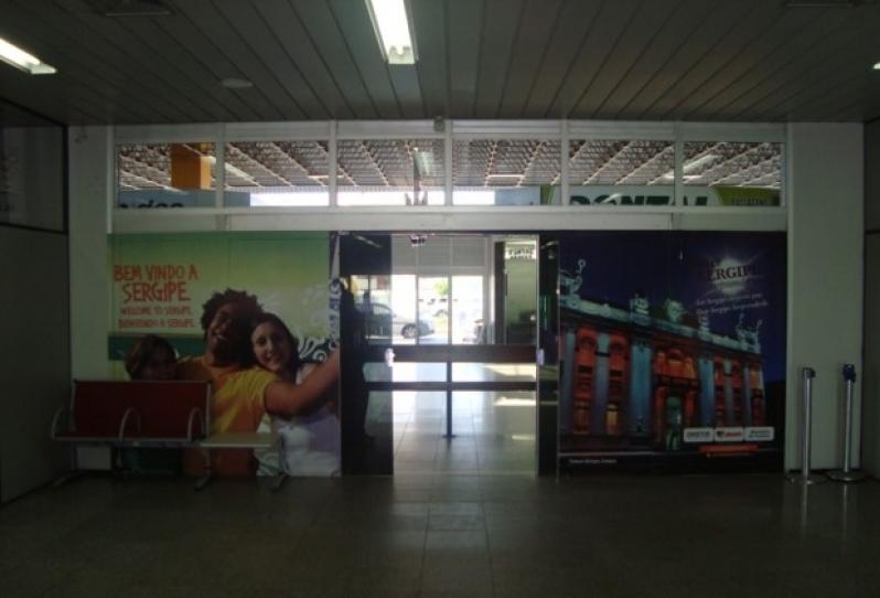 Publicidade no Aeroporto São Luis do Paraitinga - Publicidade no Aeroporto