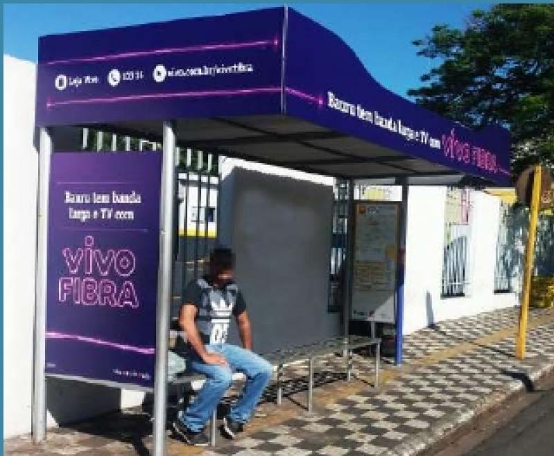 Quanto Custa Pontos de ônibus Abrigo Paulínia - Pontos de ônibus para Publicidade em Bauru