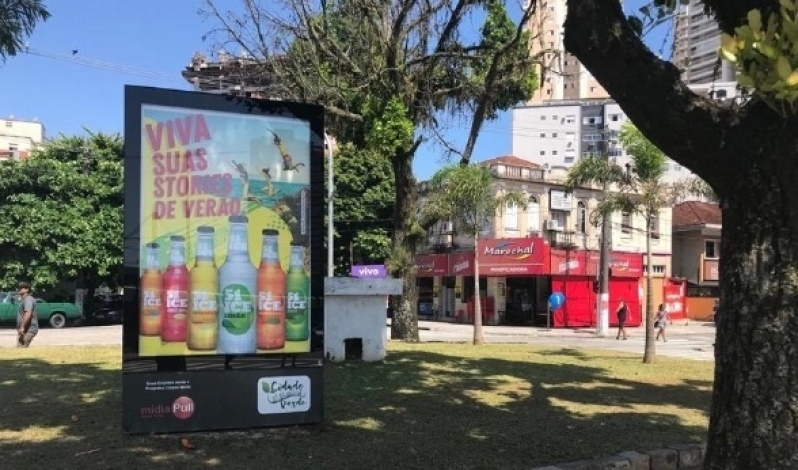 Quanto Custa Totem de Rua com Publicidade Presidente Prudente - Totem de Rua para Propaganda Salvador