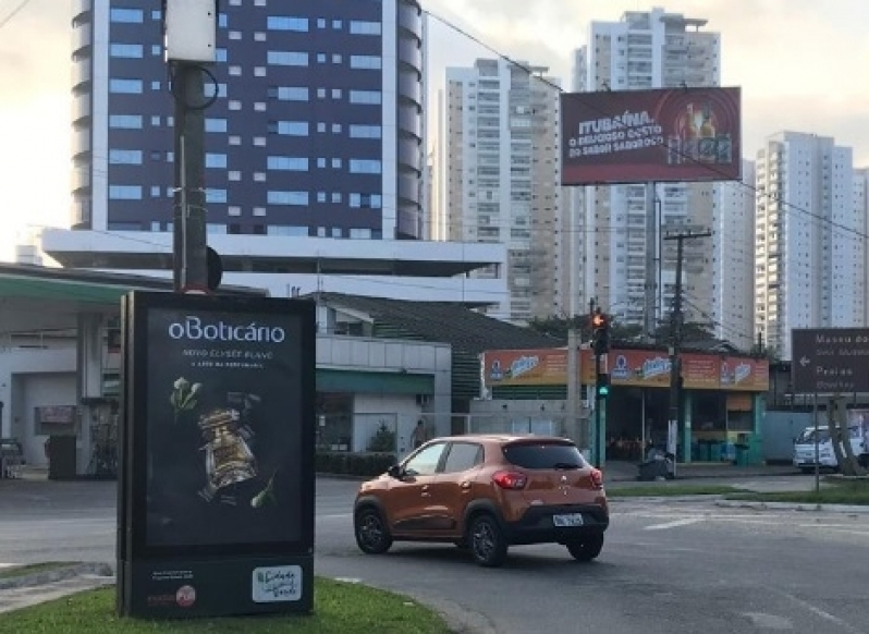 Quanto Custa Totem de Rua de Propaganda Suzano - Totem de Rua Propaganda na Avenida Acm Salvador