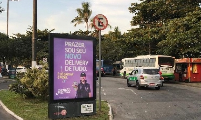 Quanto Custa Totem de Rua para Publicidade Cabreúva - Totem de Rua Propaganda na Avenida Acm Salvador