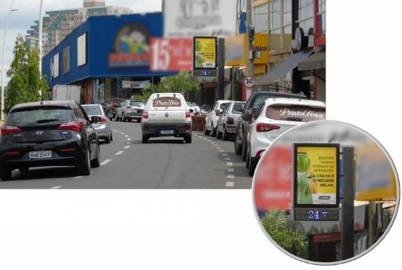 Relógio de Rua Digital Preços Rio Claro - Relógio de Rua Propaganda na Avenida Acm Salvador