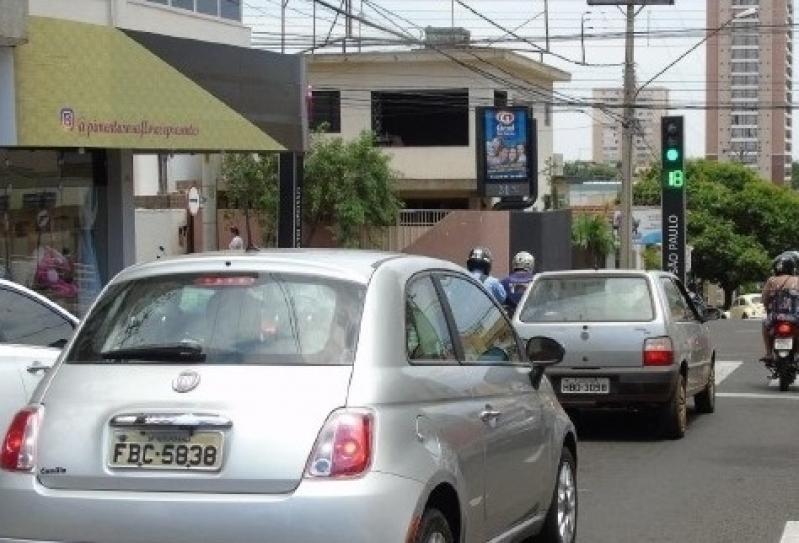 Relógio de Rua Digital Caraguatatuba - Relógio de Rua Propaganda na Avenida Acm Salvador