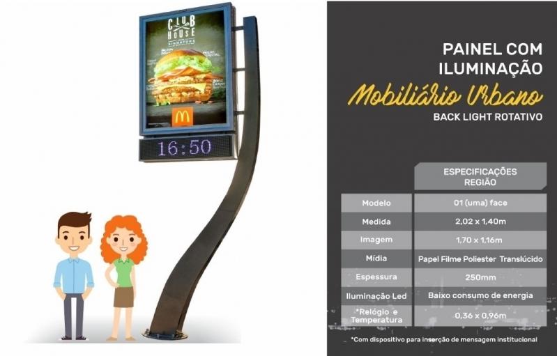 Relógio de Rua para Publicidade Preços Itapecerica da Serra - Relógio Rua Digital Av Juracy Salvador