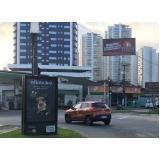alugar mobiliário urbano de totem Hortolândia