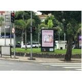 alugar mobiliário urbano totem de anúncio Francisco Morato