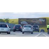 alugar painel rodoviário Santos