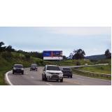 aluguel de painel rodoviário Jaboticabal