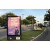 fazer anúncio no mobiliário urbano de propaganda Cotia