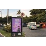 fazer anúncio no mobiliário urbano de via pública Barretos
