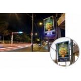 fazer anúncio no relógio de rua de publicidade Jaguariúna