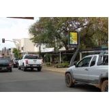 fazer anúncio no relógio de rua digital Rio Claro