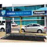 locar pontos de ônibus abrigo Embu das Artes