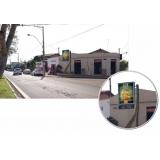 locar relógio de rua digital Santo André