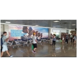 loja de mídia aeroportuária Pirassununga