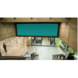 loja de mídia e painel aeroporto Campinas