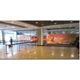 loja de mídias e painéis aeroporto Santa Bárbara d'Oeste