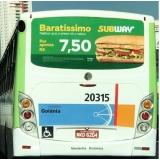 mídia busdoor preço Ubatuba