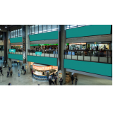 mídia e painel aeroporto São Bernardo do Campo