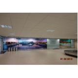 mídias e painéis aeroporto Louveira