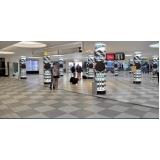 mídias para aeroporto Paulínia