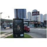 mobiliário urbano de propaganda Embu das Artes