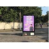 mobiliário urbano de publicidade orçar Ilha Bela