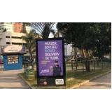 mobiliário urbano propaganda em salvador orla