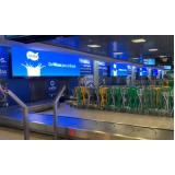 Painel de Led Aeroporto Internacional de Salvador Ba
