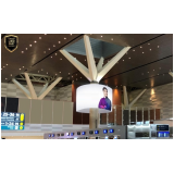 Painel Led Interno Aeroporto Internacional de Viracopos Sp