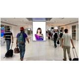 Painel Mega Led em Aeroporto